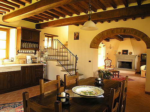 tuscan kitchen and dining