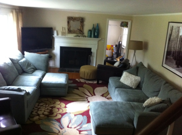 Smaller Room with Larger Furniture - The Great Room Guide