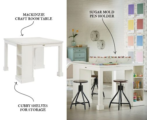 introducing magnolia home furniture part 5 On mackinzie craft room table