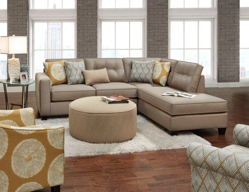 Maxwell 2 Piece Sectional