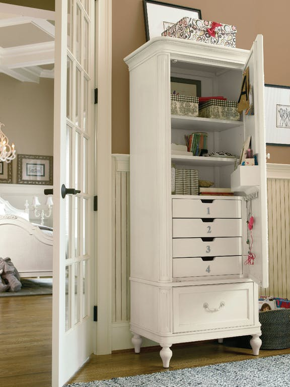 Gabrielle Bedroom Armoire with Mirror