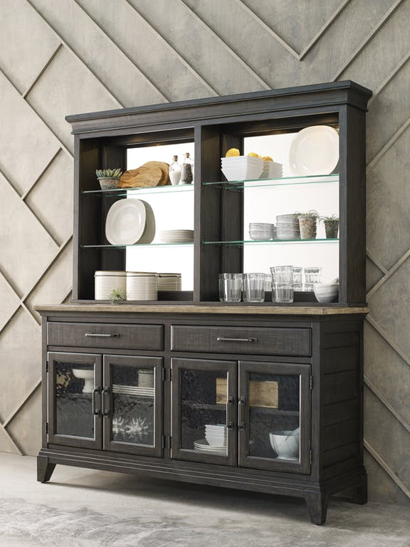 Dining Hutch and Buffet Cabinet