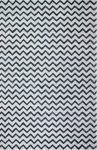 Chevron Print Geometric Rug