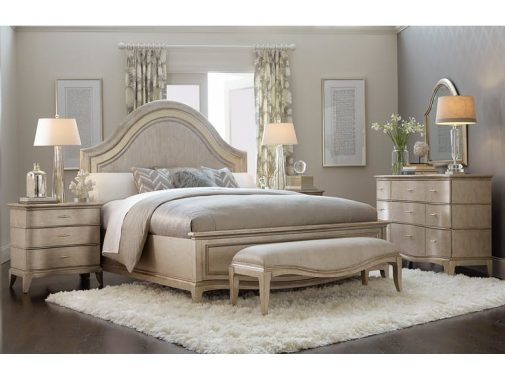 Starlite Queen Curved Panel Bed
