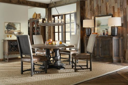 Hill Country Round Dining Room Set