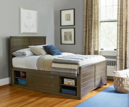 Varsity Underbed Storage Kids Bed
