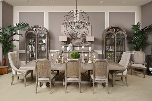 Arch. Salvage Traditional Dining Room Set