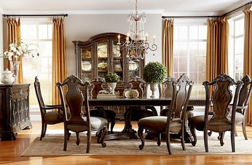 Gables 5-Piece Rectangle Dining Set
