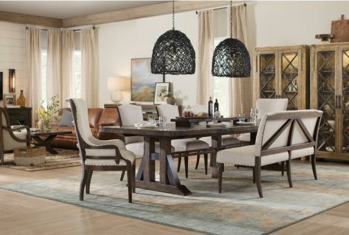 Roslyn Country 5-Piece Rectangle Dining Room Set