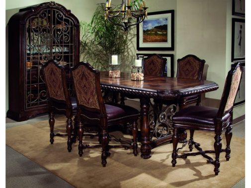 Valencia 5-Piece Gathering Height Dining Room Set