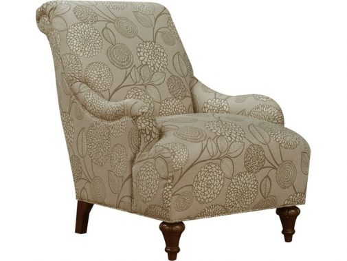 Carmen Floral-Print Accent Chair