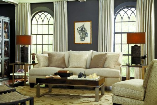 White Upholstery Couch