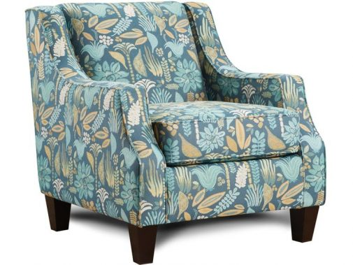 Harmony Floral Accent Chair