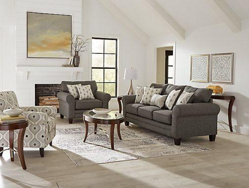 Omni 3-Seat Fabric Sofa