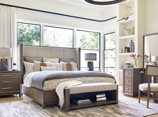 Rachael Ray Home Upholstered Shelter Bed