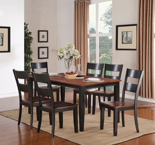 Madera Transitional Dining Room Set