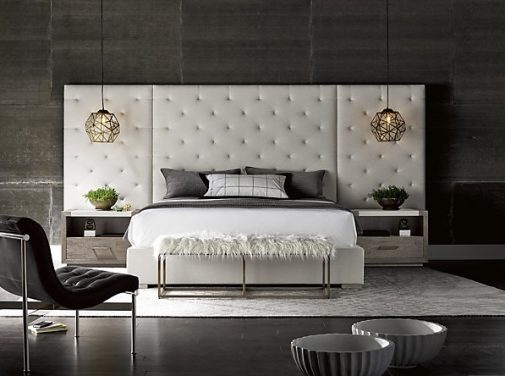 Modern Uholstered Wall Bed
