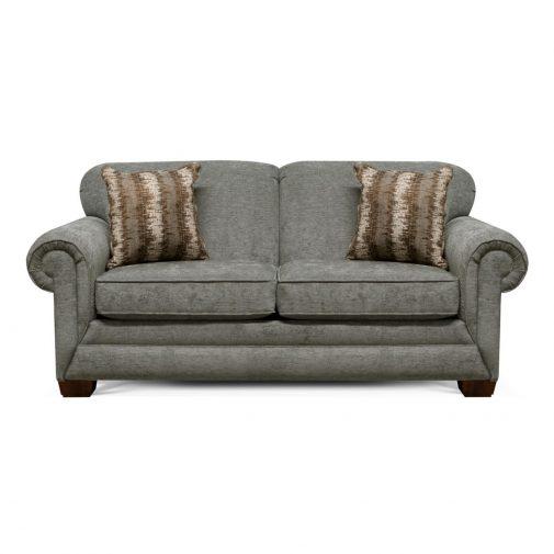 Small Blue Seeper Sofa