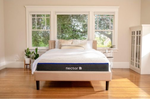 Nectar Memory Foam Mattress in Bedroom