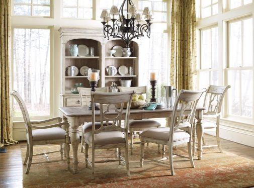 Farmhouse Style Dining Table & Chairs