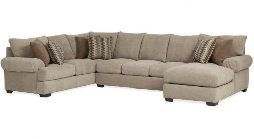 3-Piece U-Shaped Sectional Sofa