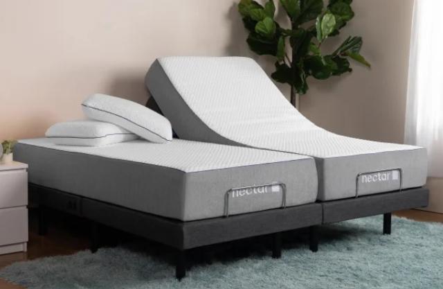 Split King Bed in Bedroom