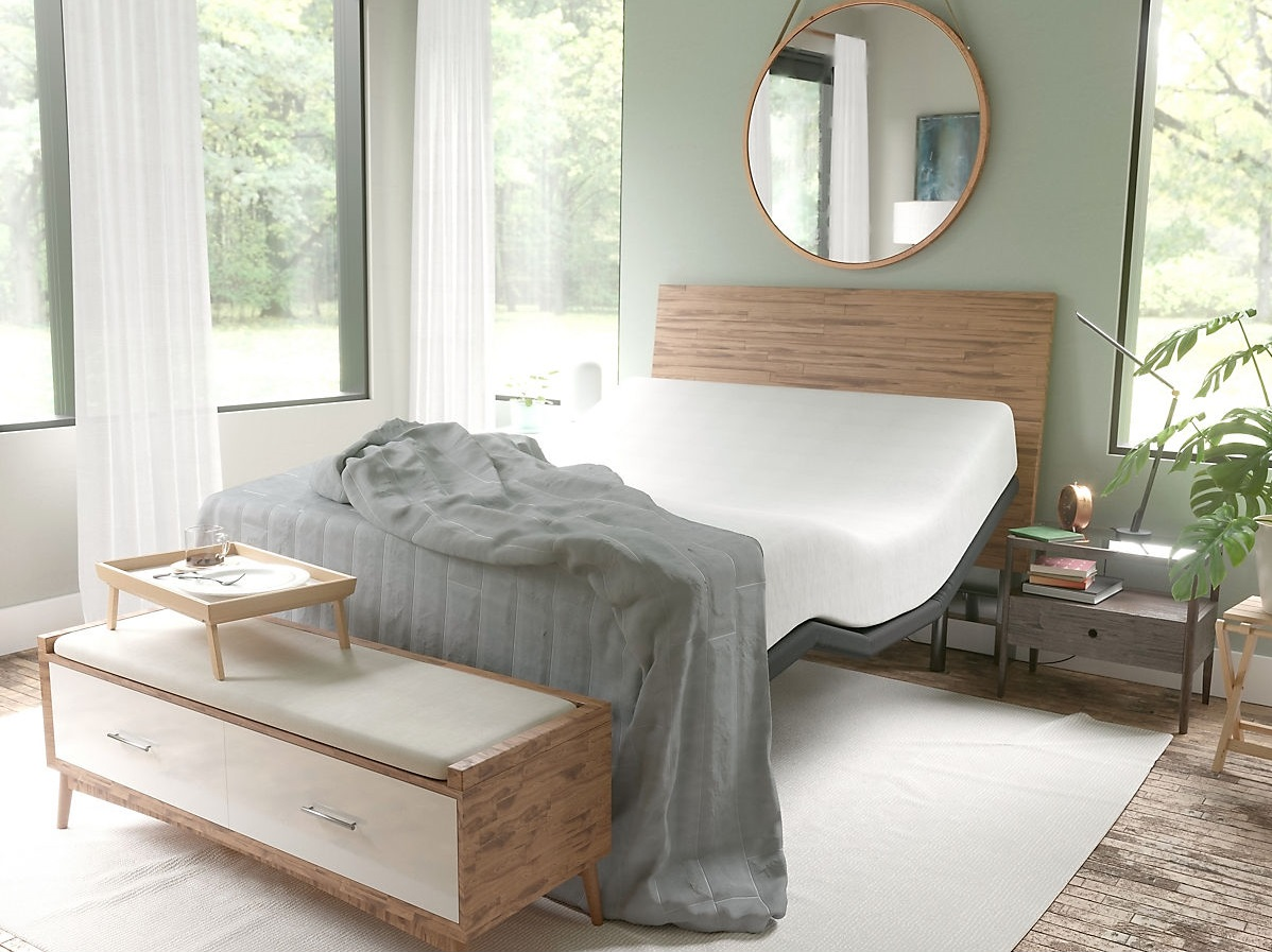 Adjustable Base Bed with Incline