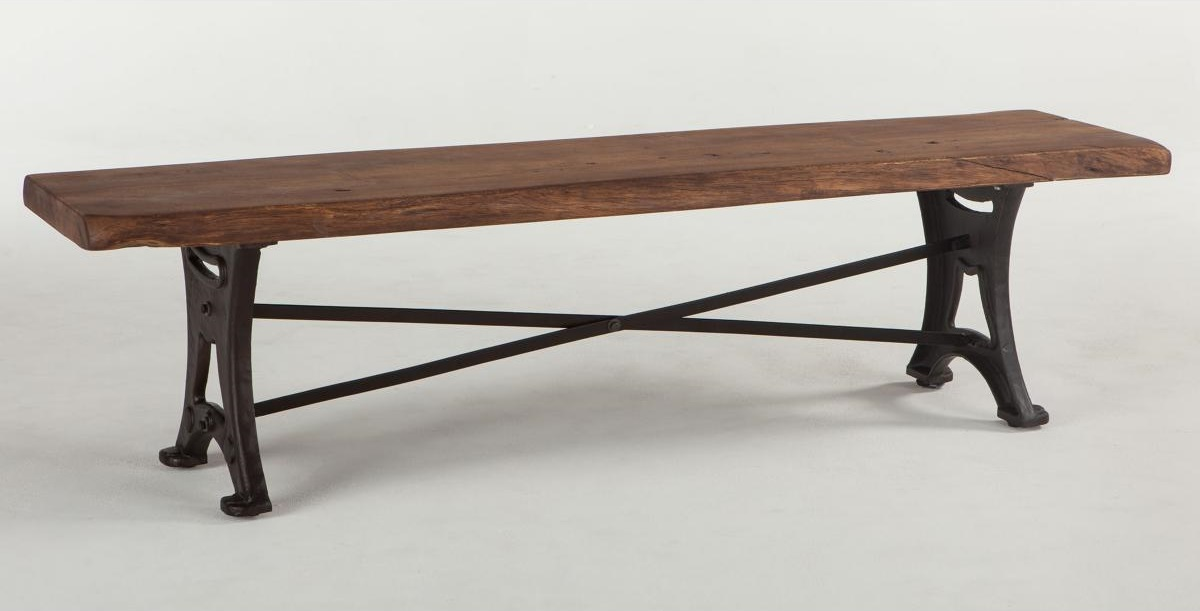Organic Forge Rustic Dining Bench