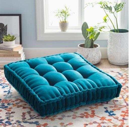 Gwinett Colorful Floor Pillow