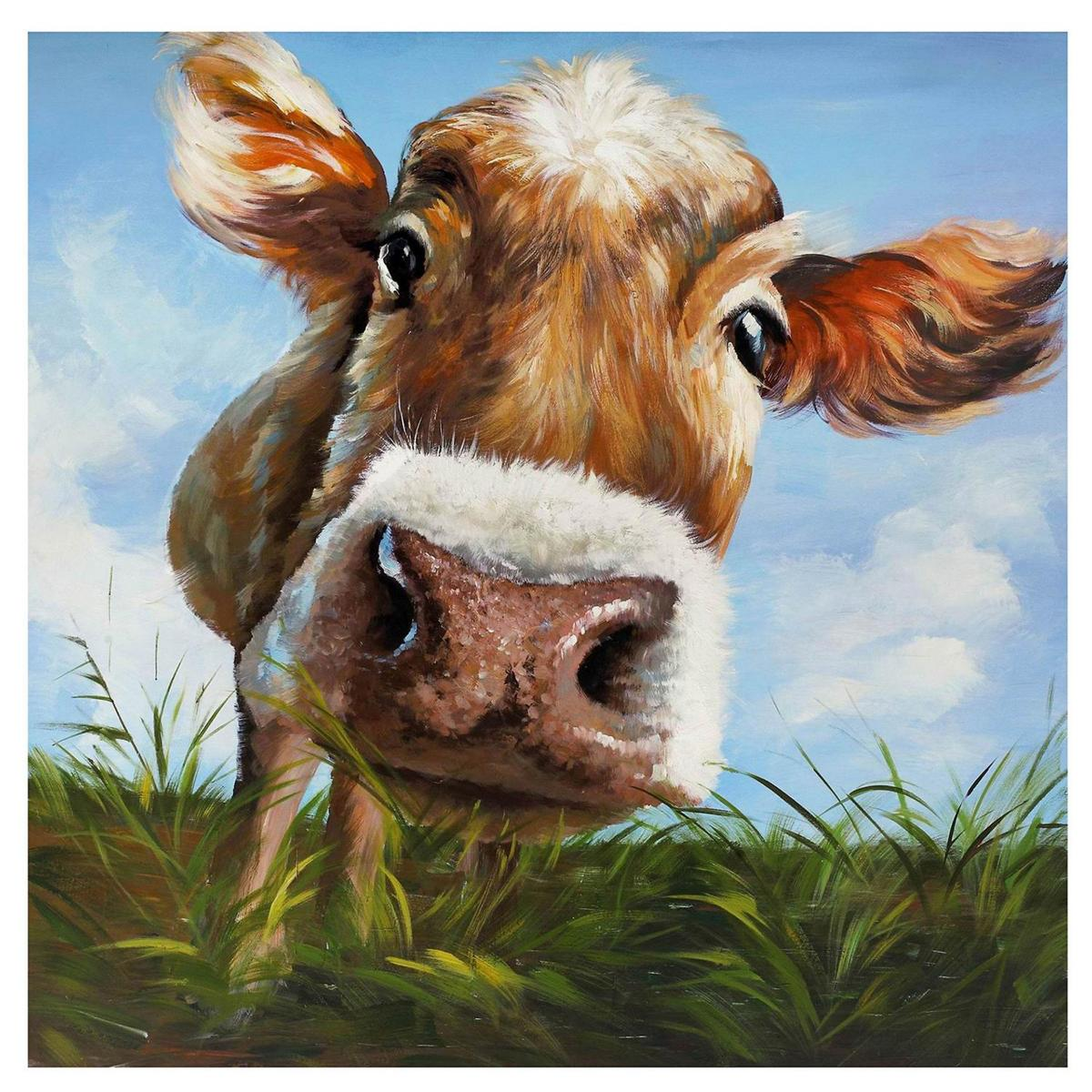 Cow Home Decor Art