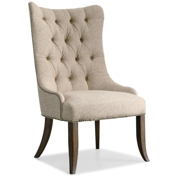 Rhapsody Tufted Back Upholstered Wing Chair