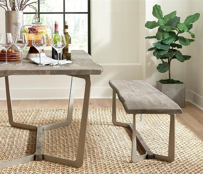 Waveryly Modern Dining Bench